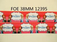 10Y12395 kerryribbon free shipping 1.5'' frozen foe ribbon hairbow diy party decoration