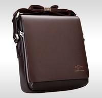 Men's Casual Business Genuine Leather Messenger Shoulder Briefcase Bag