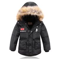 2014 new children's down jacket boy fur collar boy coat winter jacket for boy boys winter jacket winter jacket kids