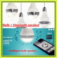 Free ship new mini arrival playbulb mobile phone android smart bluetooth wireless speaker flash led lighting,MP3 player speaker