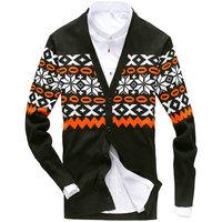New arrival autumn winter V-neck cardigan for men slim hot knitted sweater for men