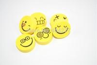 Cute Smiley Face Design Small Erasers Eraser