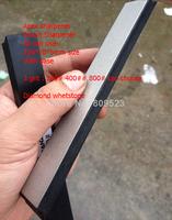 "New 6""*0.78*0.2inch sharpener diamond whetstone Apex sharpener Ruixin Sharpener All can use 150*20*5mm With base 240# 400## 800#"