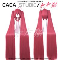 Itsuka Kotori 120cm Red Long Straight Heat Resistance Cosplay Costume Wig