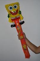 Cute SpongeBob SquarePants Cartoon Inflatable Stick Cheer Toy,Length:33.5''(85cm)