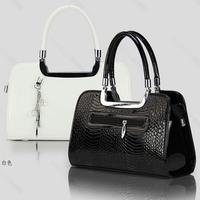 women handbag high 2014 New Fashion quality lady PU leather hand bags free shipping