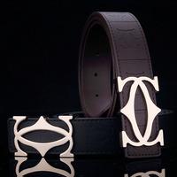 brand belts, leather belt for men,Genuine leather slide buckle designer belt  Men's belt ,