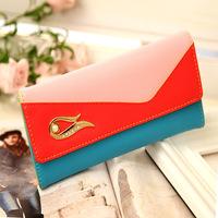 The New Woman Korean purse fashion color lady mobile phone purse, hand bag purse wholesale