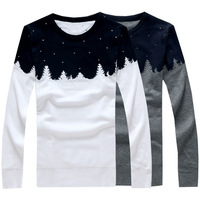 New arrival autumn winter knitted men's sweater slim pullover for men