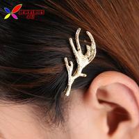 2014 X'Mas Gift fashion women's gold silver David's Deer Antlers Hairpins accessories Jewelry bijoux wholesale