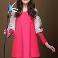 Fashion korea edition, pregnant women dress, pregnant women autumn outfit, the new 2014,Maternity Dress