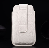HKP ePacket Free Shipping with credit card bag Leather Pouch Bags Cases For sony ST26i For Xperia J Cell Phone Accessories