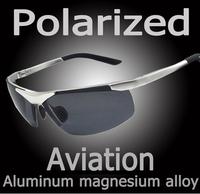 New Freeshipping Fashion Sport Male Top polarized sunglasses aluminum magnesium alloy Polaroid Sunglasses Drving Oculos de Gafas