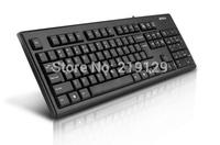 Best selling Game keyboard  A4TECH Drive USB Mute Waterproof computer keyboard Red free shipping!!
