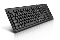Best selling Game keyboard  A4TECH Drive USB Mute Waterproof computer keyboard Red free shipping!!