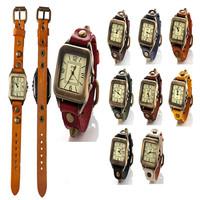 2014 Hawaiian style watches women's clothing, retro fashion ladies leather quartz watch free to send orders