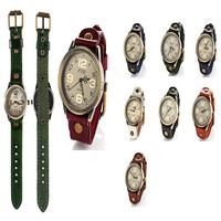 2014 Hawaiian style watches women's clothing, retro fashion women leather quartz watch free shipping