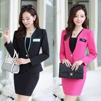 2014 fall series autumn design Korea fashion office style office career waiter women's work skirts suits,uniform