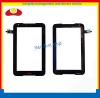 10pcs/lot DHL EMS Original 7inch For Lenovo A1000 Touch Screen With Digitizer Panel Front Glass Lens Black Color