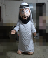Cartoon eva material fan Adult size Arabia doll dress Stage costume People wear into the show.