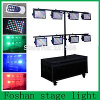 Free shipping 8pcs/lot,led par 64 rgbw dmx stage lighting,led strobe par can, dj disco par light wireless control