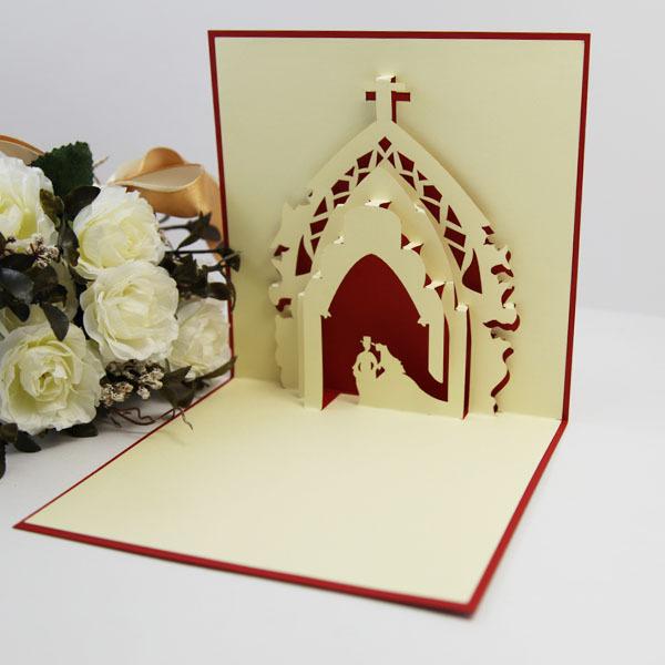 Holy church wedding greeting card creative gift ideas paper edge lines ...