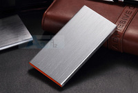 Silver 8800mah External Battery Pack Power Bank Charger for iphone  Mini Samsung  Smartphone