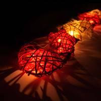 Rattan Star&Moon String Lights/Fairy/Lamp Home/Christmas Decor/Lighting, LED Available,Romantic warmth