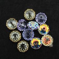 wholesale 2014 fashion briolette design  3 colorsoriginal factory swa austrian 6/8mm 20pcs/lot  high quality crystal beads sj002