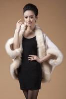 Autumn and winter cardigan women's cardigan cloak outerwear plus size cape loose ladies outerwear sweater