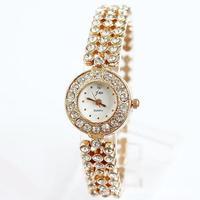 Martian man 2014 new arrival fashion cute lady student bracelet watch diamond bracelet female watch free shipping D0080