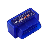 Christmas Mini ELM 327 V1.5 OBD 2OBD  II Bluetooth Diagnostic Car Auto Interface Scanner Tool Free shipping