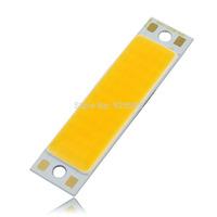 free shipping 30W 3500K 2700LM Warm White COB LED DRL Daytime Running Light Backup Interior Strip