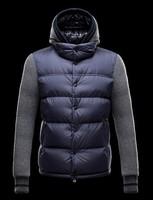 2014 Men Hooded down Outwear  Men's down Coat Winter outwear warm duck Down coat 100% Perfect Design Male winter wear Overcoat