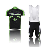 Free Shipping Team Mens Cycling Jersey Set Shorts (BIB) Shorts Quick Dry Breathable Wicking Cycling Clothing CD0812