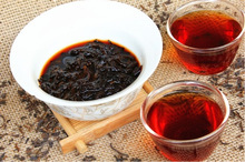 100g Free shipping 1999 Menghai Loose Puer Tea ripe puer tea