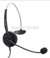 Aiteou A100 RJ9 crystal single ear connecting headset. foam ear pad.telephone,call center headset,earphone,headphone