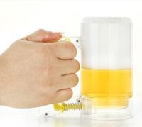 1Piece Beer Foamer Mug Sparkling Beer Mug / Foam-Generating Beer Mug,Creative Beer Glass,Free Shipping