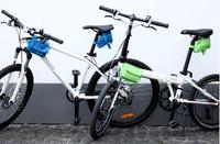 12655 bicycle equipment bag pipe bag dual saddle bag