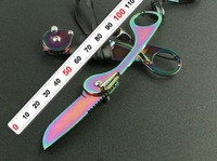 HOT sale!  GB The Lord of the rings knife folding knife Titanium color free shipping 2PCS/lot