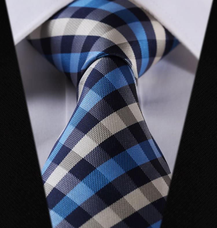 Мужской галстук TC350B8 3.4 100%