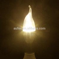Wholesale E14 LED Candle Light bulb lamp AC85V~265V  Natural Warm color LED Bulb 6 PCS/LOT Free Shipping
