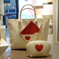 For oppo   bags women's handbag big bag fashion brief shoulder bag small cosmetic bag 2014 9930