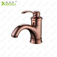Xiduoli European Style Deck Mounted Teapot Basin Sink Faucet Rose Gold Color Decorative Tap Torneiras Brand Sanitary