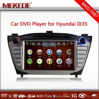 MTK 800MHZ Dual Core Special Car DVD  GPS navigation player For Hyundai TUCSON / ix35 with BT+Ipod full function+Map gift!
