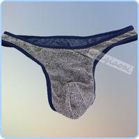 ZZ012 New arrival black lace transparent temptation g strings mens thong swimwear gay men underwear sexy lingerie men