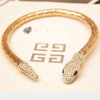 bendable snake necklace snake choker necklace super