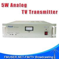 FMUSER FM-5T UHF/VHF 5W Analog TV transmitter PAL/NTSC