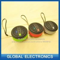 MINI portable tf card speaker bluetooth FM radio phone calling speakers outdoor car soundbox freeshipping