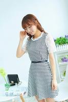 free shipping/hot sale women dress/2014 summer dresses/fashion designerLace Sunflower/short sleeve/ladies/sweetSlim/dr012
